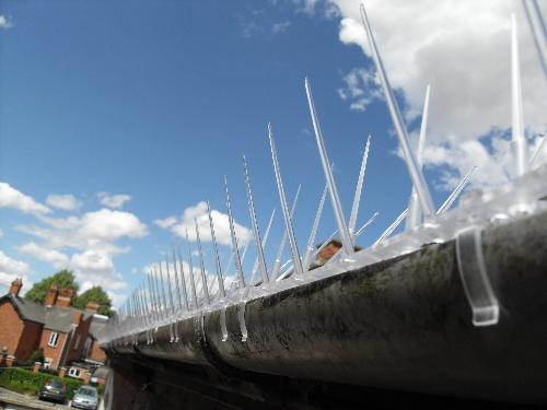 smaller plastic gutter spikes